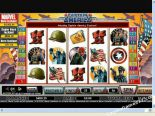 gioco slot machine Captain America CryptoLogic