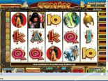 gioco slot machine Conan The Barbarian CryptoLogic