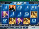 gioco slot machine Fantastic Four Playtech