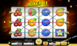 gioco slot machine Joker 81 Kajot Casino