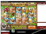 gioco slot machine Roll out the Barrels Rival